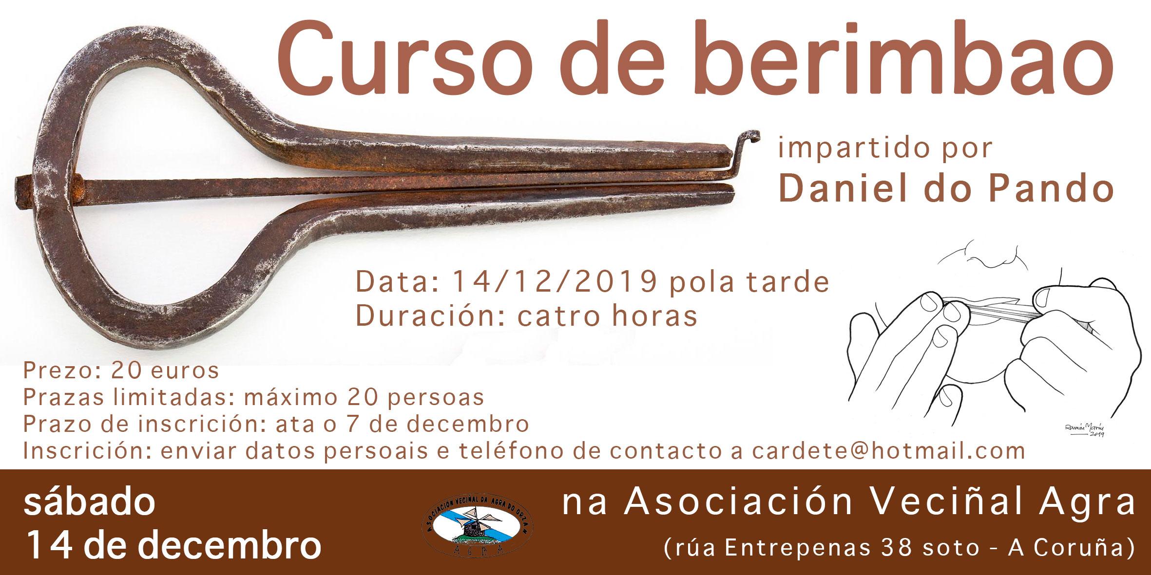Curso de berimbao na Coruña