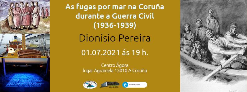As fugas por mar na Coruña durante a Guerra Civil (1936-1939)