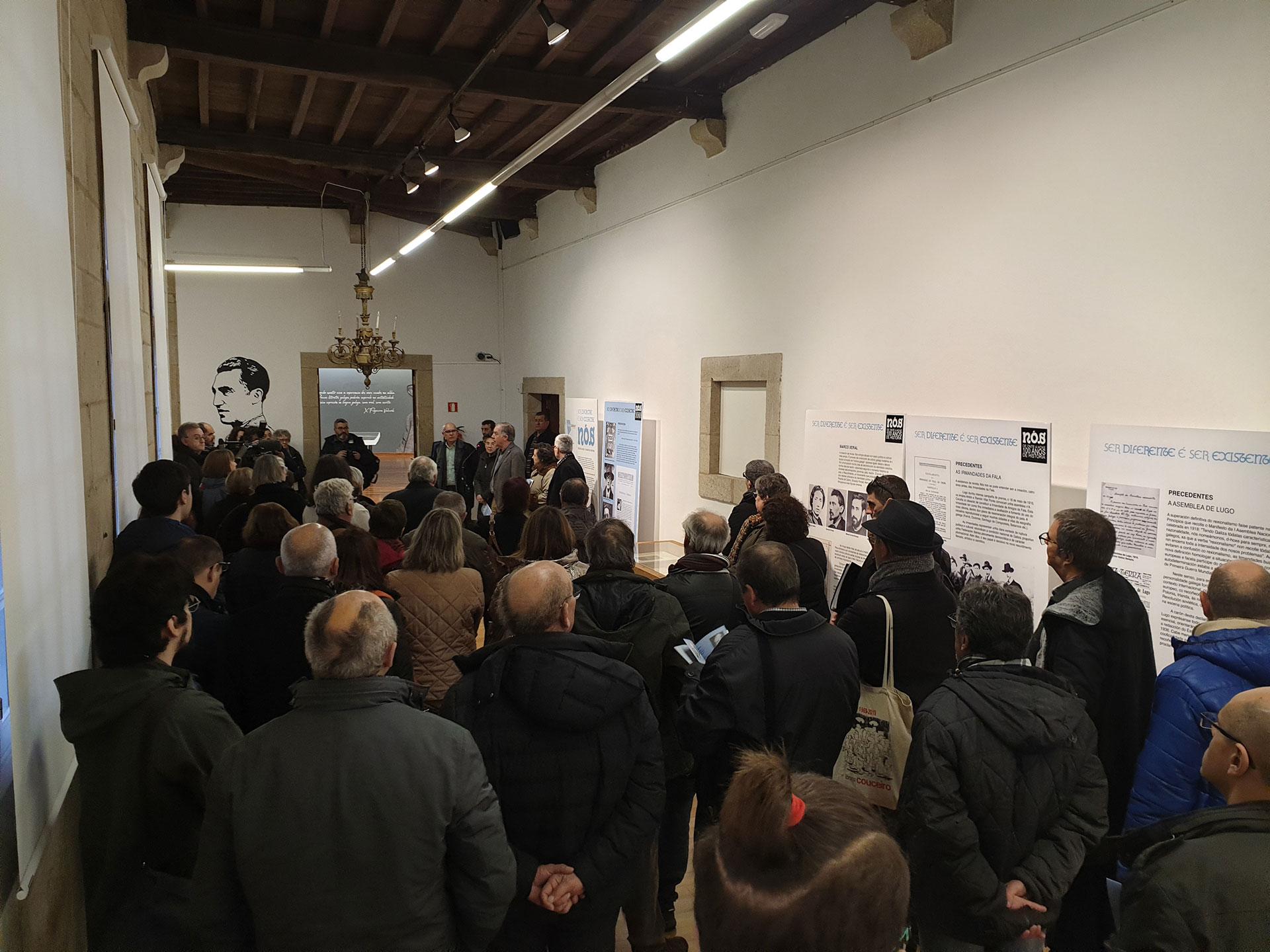 Inauguración da Exposición Nós de Onte a Hoxe: 100 Anos de Historia