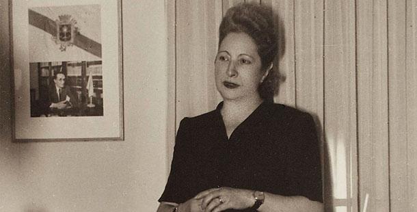Presentación da biografía de Virxinia Pereira